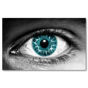 Αφίσα (γαλανός, γαλανά μάτια, μάτι, αφηρημένο)
